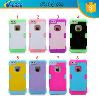 Armoured Style Glow In The Dark Silicone Cell Phone Case For iPhone 5c