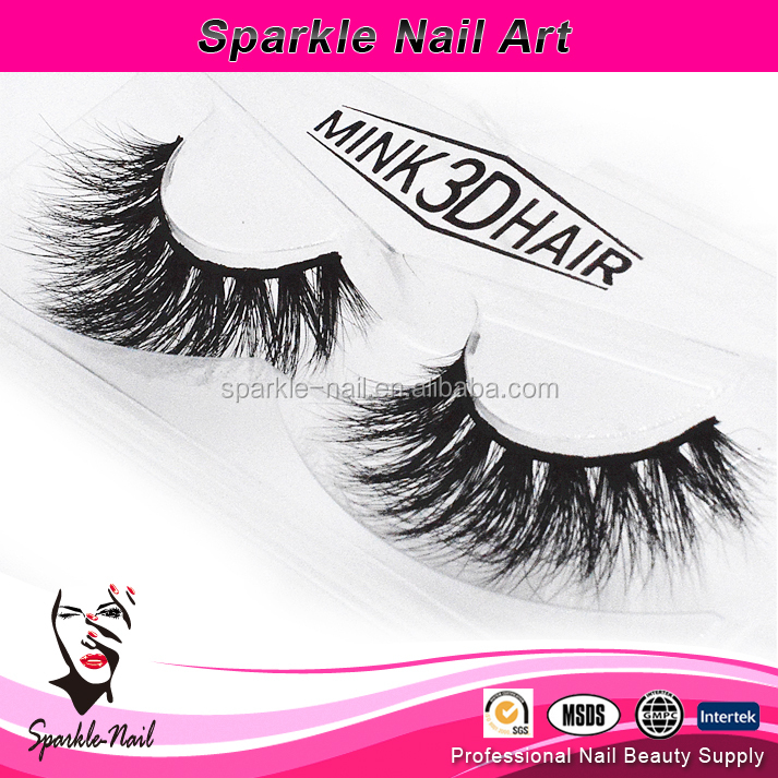 Custom Packing High Quality Private Label 100% Real 3d Mink Lashes