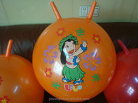 Anti- burst Children hopper ball with handle