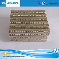 Professional Manufacture Making Customized High Quality Neodymium Strong NdFeB Half Round Magnets