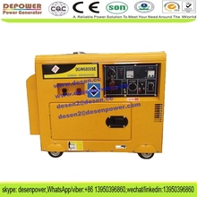 New design 6kva 5kw small silent welder diesel generator with three phase