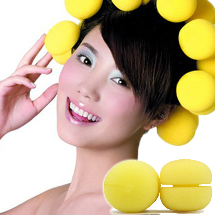 20mm multi Size Colored Hook And Loop Hot Hair Curlers Rollers