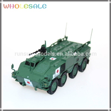 Hot Sale 1:72 die cast scale toy model tank Type 96 wapc Self-propelled howiter military model collection