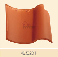China factory wholesale high quality spanish red clay roof tile