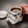 U Wars Storm trooper Helmet Mug White Warrior Ceramic Cup Water Bottle Coffee Cup