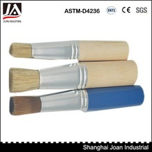 3pc professional wooden handle artist painting brush