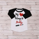 Latest Design Girls Top 3/4 Sleeve White T- shirt New Model Shirts