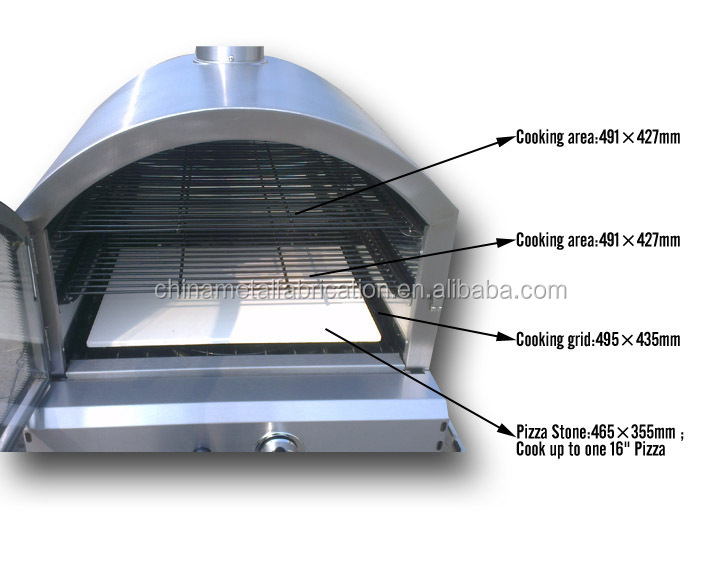 patio lg gas pizza oven