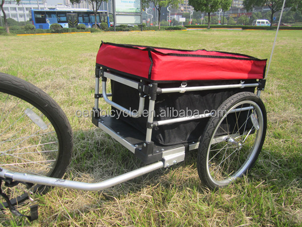 2014 hot asle 20inch two wheels Aluminum alloy material folding bicycle cargo trailer