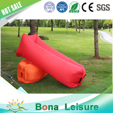 Outdoor inflatable sofa caming air bed, lazy inflatable air lounger for beach