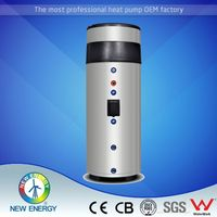 OEM factory air source with solar coil air recuperator