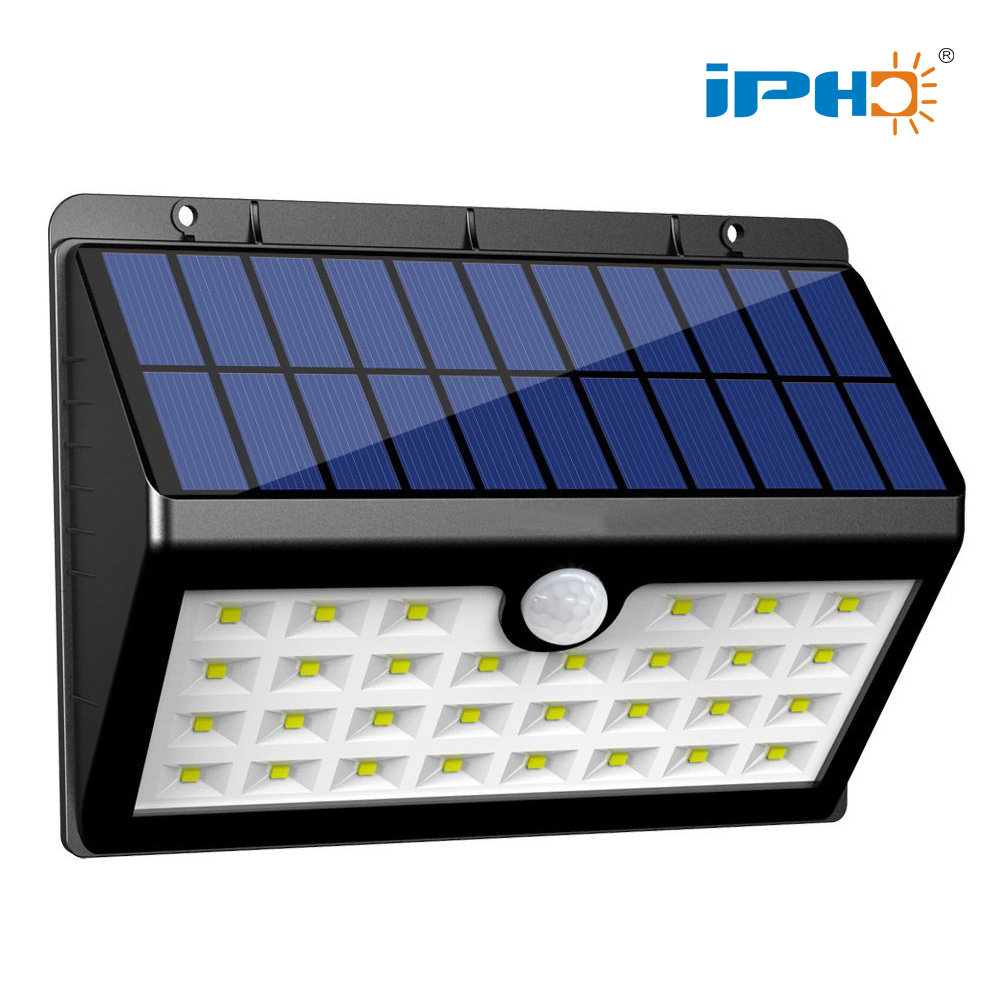 45 Leds High Lumen Home Wall Motion Sensor Led Garden Solar Light