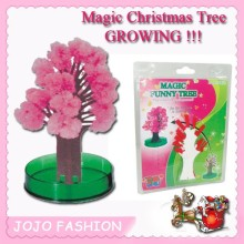 magic paper growing wholesale artificial cherry blossom tree