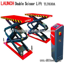 small 12v double scissor hydraulic car lift with CE