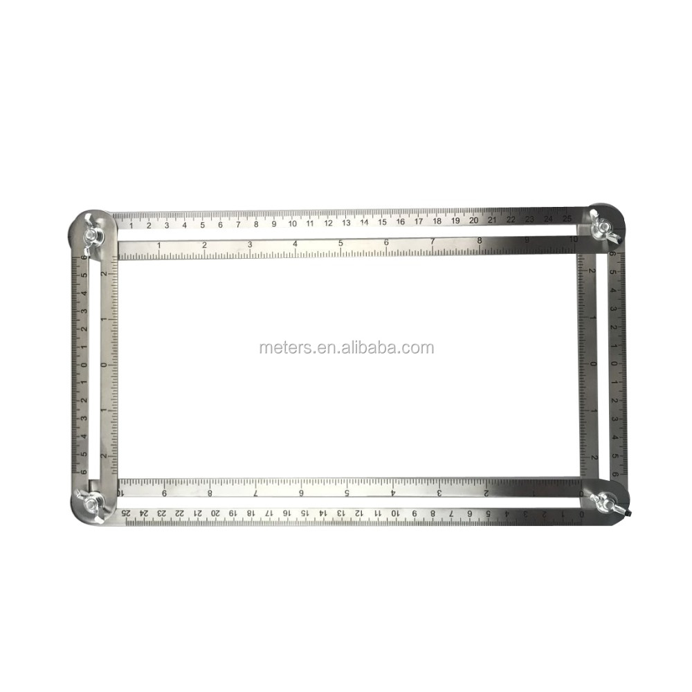 Multi Angle Metal Ruler Measures All Angles Angle-izer Template Tools