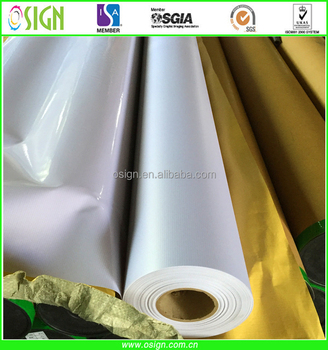 PVC pana flex banner / frontlit flex banner / exhibit banner for digital printing
