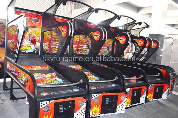 Skyfun indoor basketball game machine street basketball arcade game coin operated