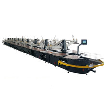 Newest Italy style Automatic Oval Textile Screen Printing Machine