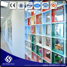 High Quality colored glass block for bar
