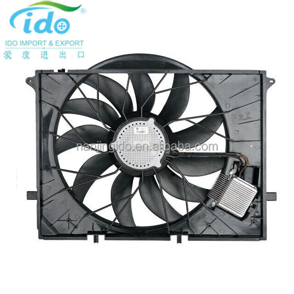 Auto Parts Radiator Cooling Fan Assy 2205000193 W220 S300 S430 S500 S65 For Mercedes Benz