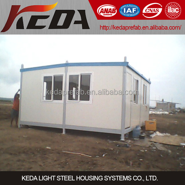 High quality Cheap prefabricated modular container house