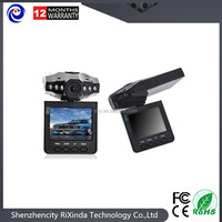 Popular 720P Car DVR Vehicle Black Box 120 Degree Angle with Night Vision+2.5 Inch TFT Rotatable LCD Screen/Motion Detection