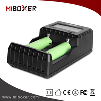 New original Miboxer C2 Intelligence Li-ion Battery Charger with LCD Screen and USB Output Charger Can Measurable Battery
