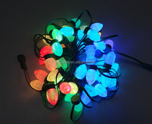 D24mm Holiday Outdoor decorative Colorful 90degree Christmas dmx led pixel light ball ws2811