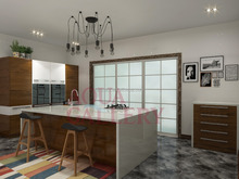 Modern High Gloss Lacquer kitchen Cabinet/ Kitchen Furniture From Guangdong