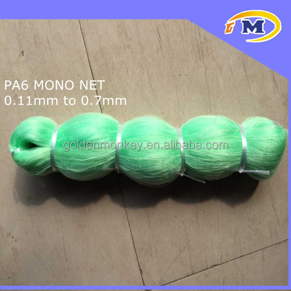 LENGTHWAY STRETCH BLUE/GREEN/WHITE/BLACK 100% PA6 NYLON GILL MONO/MONOFILAMENT FISHING NETS/FISH NETS