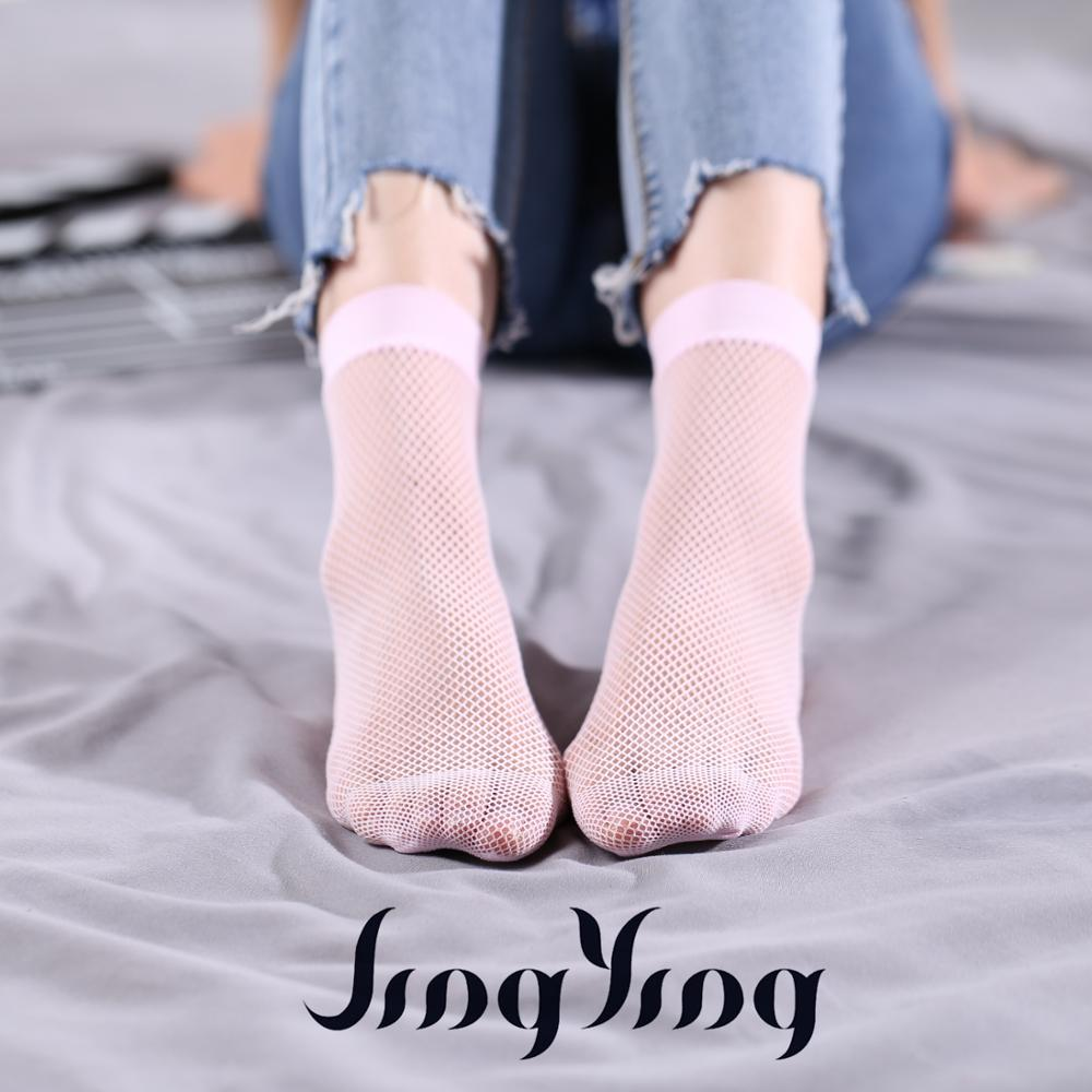2017 Wholesale nylon pink fashion girl ankle socks