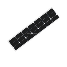 10W 20W 30W 40W 50W 60W 80W 90W 100W 120W 130W Semi Flexible Solar Panel Wholesale