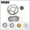 motorcycle sprocket chain set,sprocket size