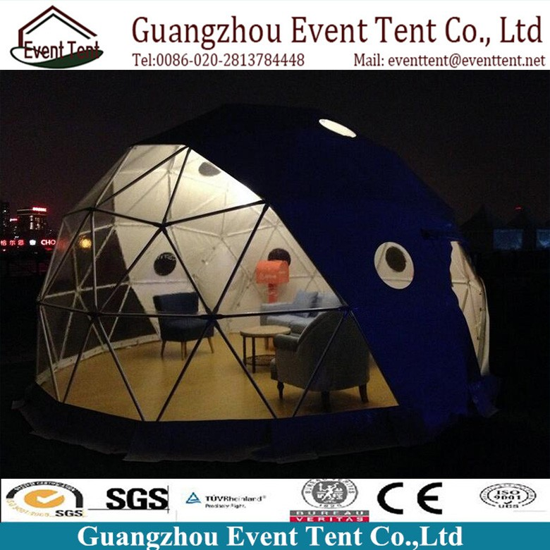 Guangzhou Cheap Clear Aluminum Frame Transparent Camping Tent For Outdoor Using