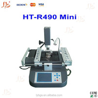 Cheap 3 Independent temperature zone Honton HT-R490 mini honton bga rework, bga reball machine