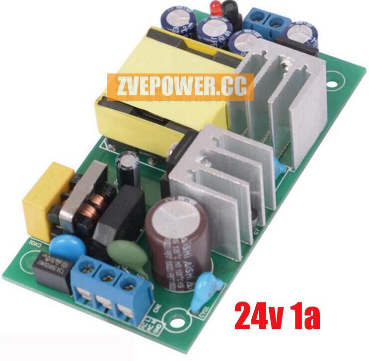 24v1A (24W) solated switching power supply board with industrial power