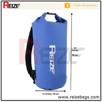 20 Liters Custom Logo Dry Bag Backpack for Rafting Boating Diving Sports