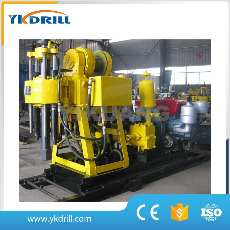 small portable hydraulic water well drilling rig for sale 130m depth 11kw motor