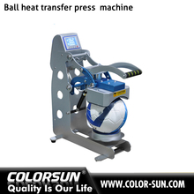 2017 Newest Arrival Ball Logo printing sublimation heat transfer press for football basketball combo machine