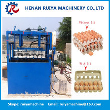 Waste paper recycling small paper egg tray machine/paper egg box making machine price/electrical products paper tray equipment