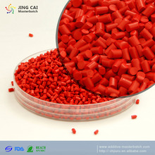 Environment friendly plastic ABS red Masterbatch pellet