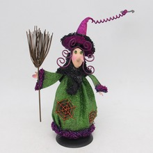 2017 New Design Halloween Ceramic witches Home Decor