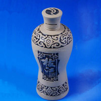 Ceramic Wine Container for Sale, 200 ml Bottle, Wine Bottle Wholesale