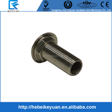 "SS Marine Fitting/1"" Through Hull Outlet with BSP Parallel Male Thread Ends"