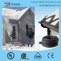 PAWO ceiling heating cable with UL certification for Europe