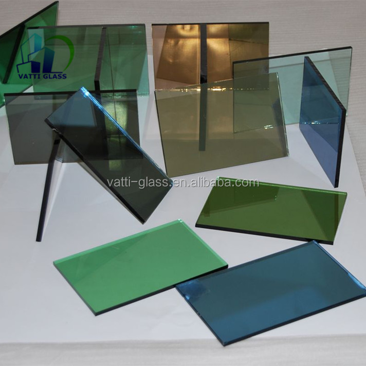 Wholesale various color tinted colored tempered glass