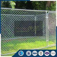 Strong technical force used aluminum chain link fence panels