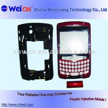 OEM plastic mobile phone shell and cover with DME standard mould service from 3D design drawing to parts