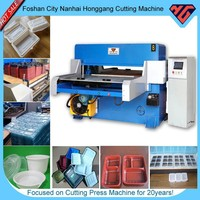 hydraulic plastic bevel cutting machine