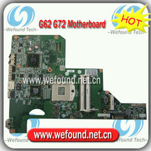 615381-001,Laptop Motherboard for HP G62 G72 Series Mainboard,System Board